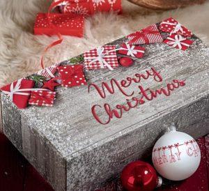 Präsentverpackung MERRY CHRISTMAS