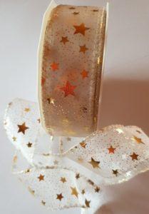 Orion gold, 20m Rolle, 4cm breit, mit Drahtkante